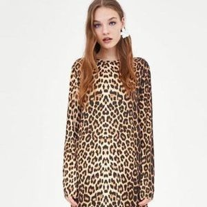Like new Zara animal printed dress